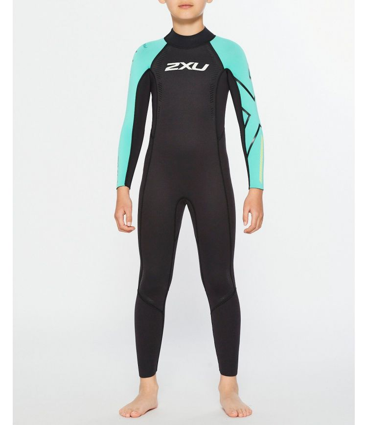 Propel Youth Wetsuit|Black/Oasis|L