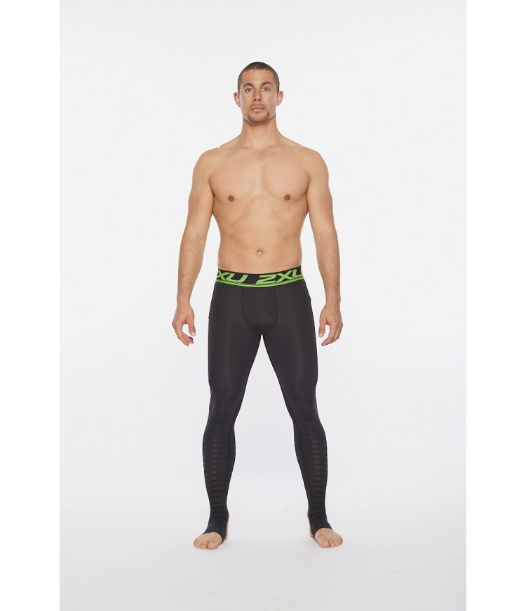 Power Recovery Compr Tights|Black/Nero|XL