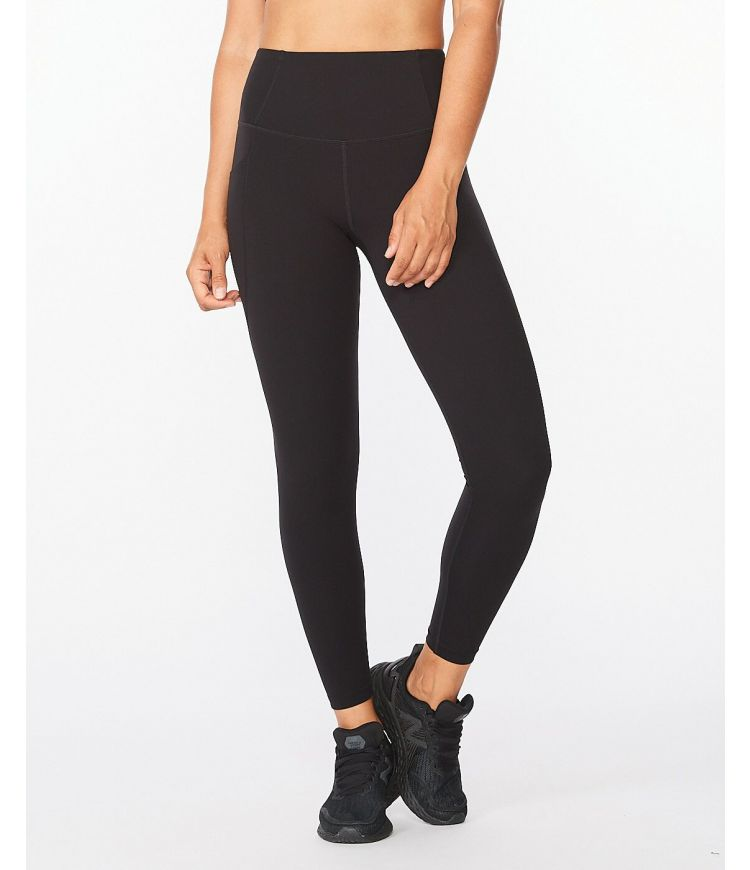 Fitness New Heights Comp Tight|Black/White|MT