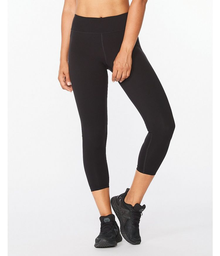 Form Mid-Rise Comp 7/8 Tights Black/Silver ST